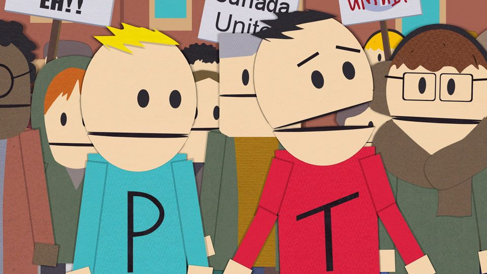 south park guys Matt stone and trey parker didn't expect donald trump to become the 45th president of the united states in fact, they, like many others, were so sure hillary clinton was going to win that.