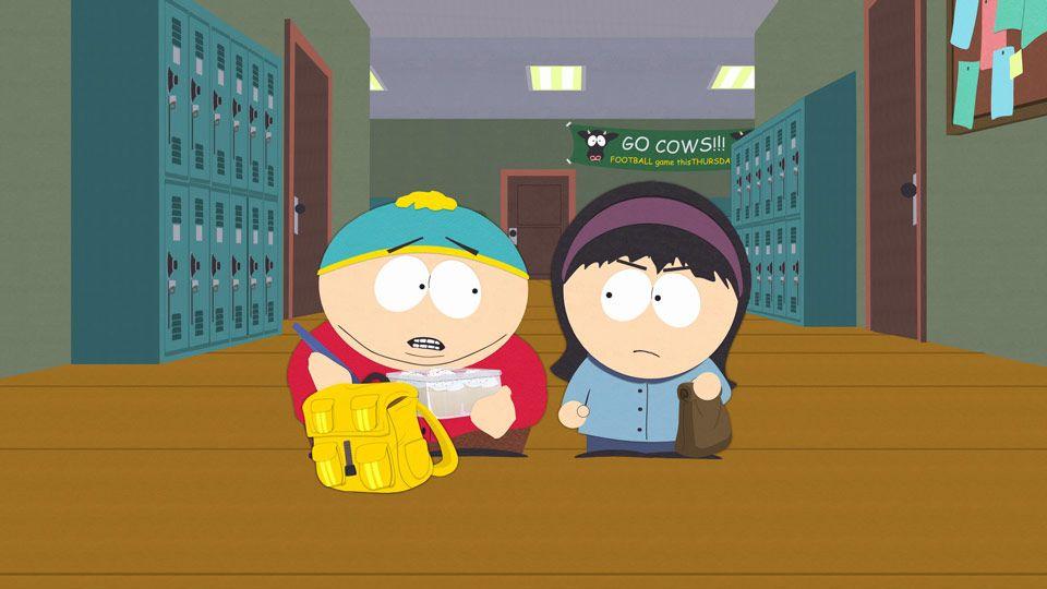 Cartman craps cigarettes