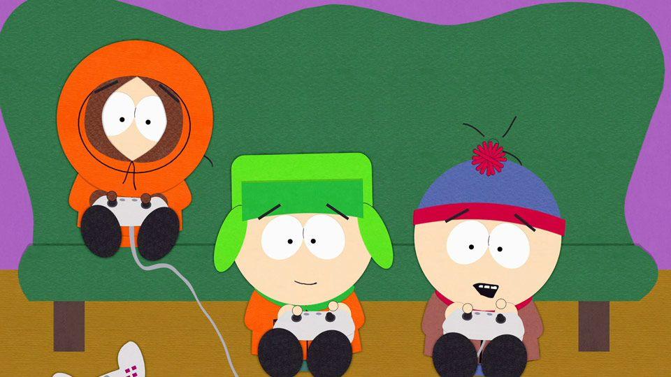 Trash Can Gold Video Clip South Park Studios