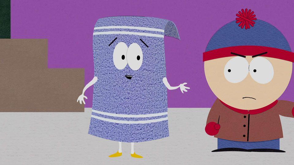 Towelie Ban Clip South Park Studios Nordics