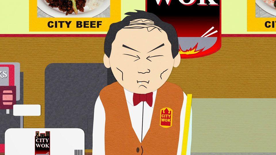 City Wok Guys Great Wall Video Clip South Park Studios Nordics